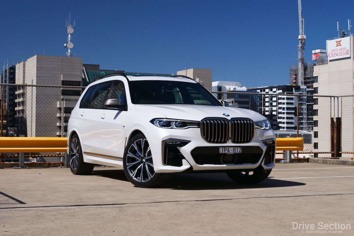 2020 Bmw X7 M50d Review Drive Section